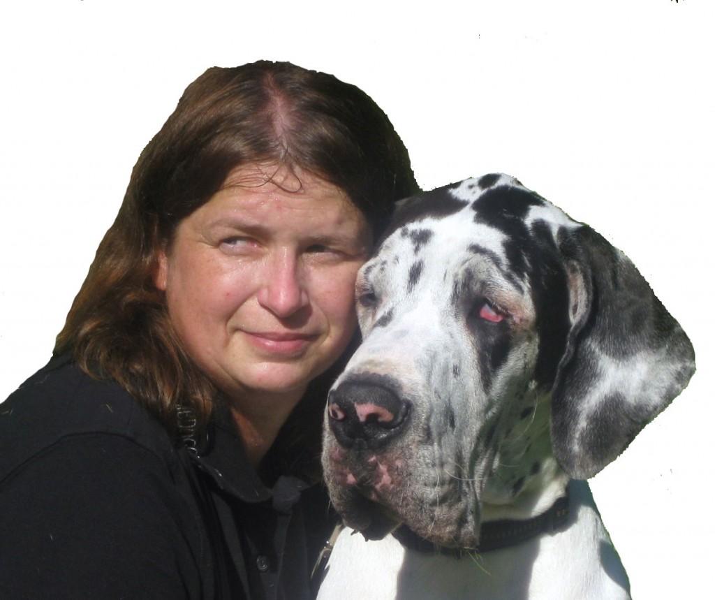 Dagmar Schultze mit Yackson vom Hollenstein